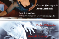 Workshops with Carina Quiroga & Arttu Artkoski